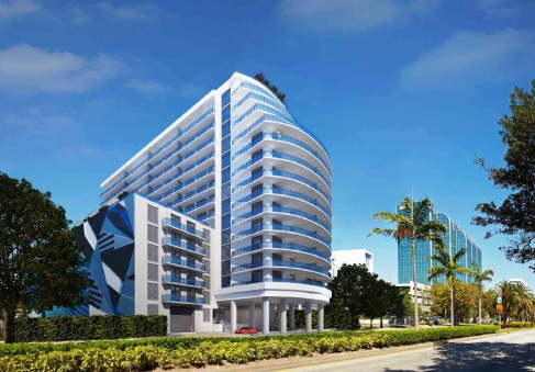 Artist render of Baltus House near Miami's Design District