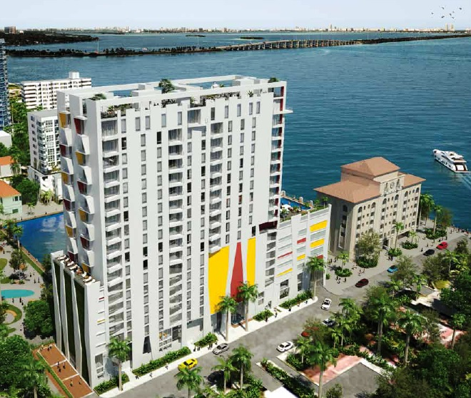 Artist render of The Crimson Condos Edgewater