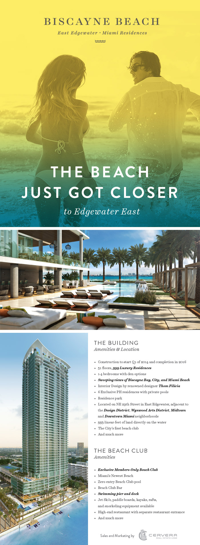 Introducing Biscayne Beach, a sophisticated, amenity-rich waterfront development in East Edgewater, Miami's hottest emerging neighborhood