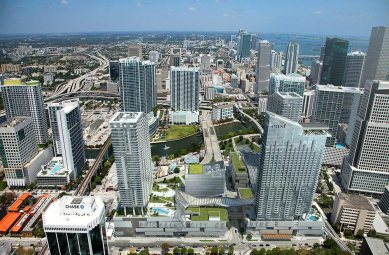 Brickell City Center aerial render