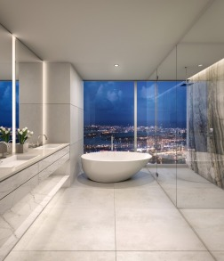One River Point bath render