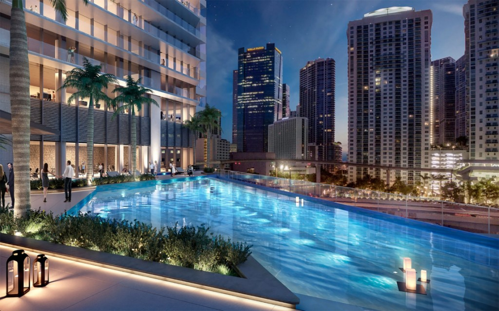 One river point pool render