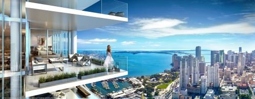 The residences at Paramount Miami