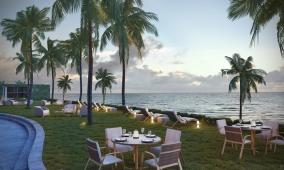 Oceanfront garden