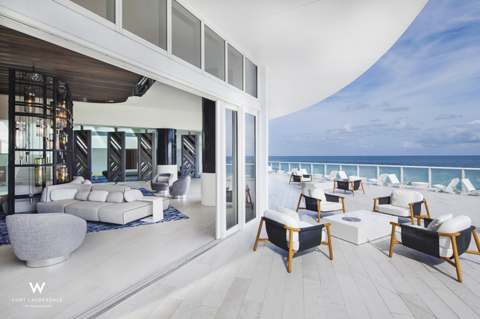 W Ft. Lauderdale Living Room Terrace
