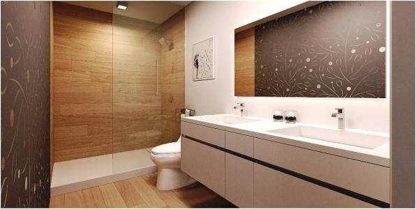 Naranza Unit D Master Bathroom