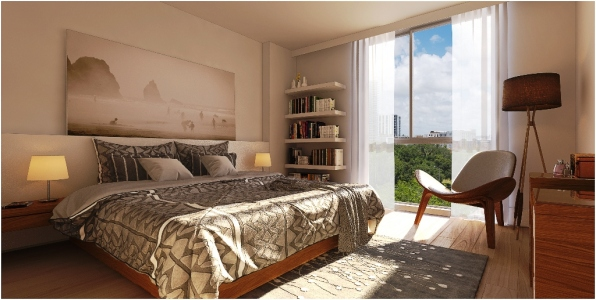 Naranza Unit D Master Bedroom