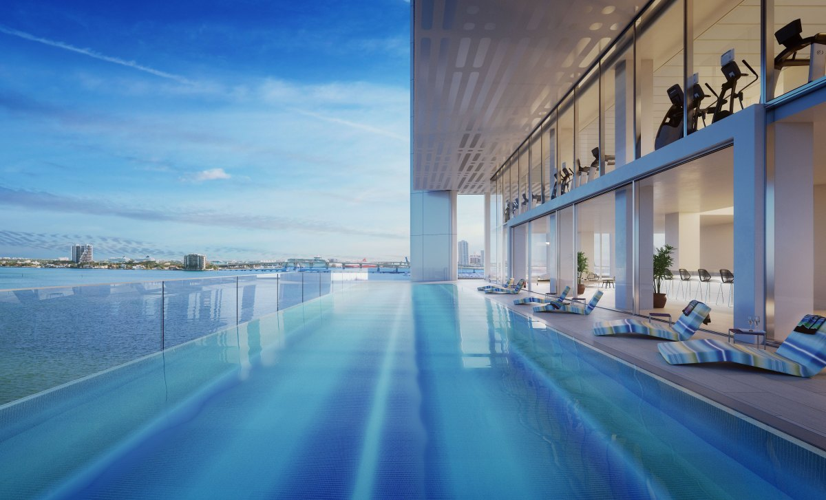 Missoni Baia Bayside Terrace Infinity Pool