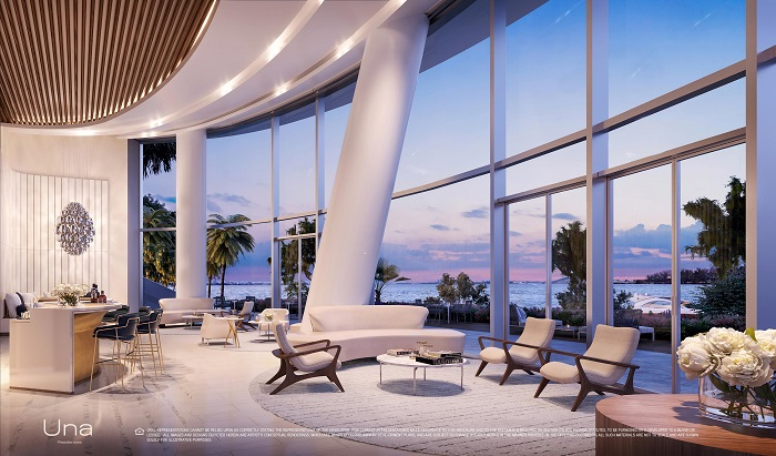 Una Residences Bay View Lobby small