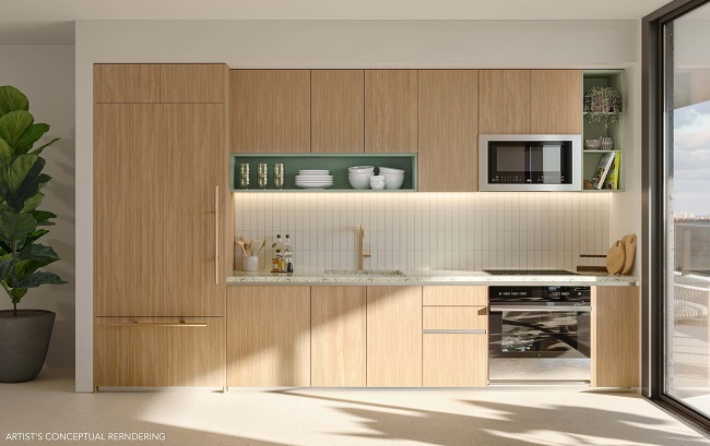 Natiivo Miami kitchen render
