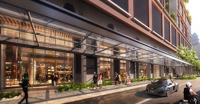 Natiivo Miami retail render small