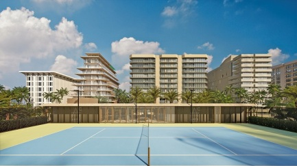 Arte Surfside Tennis Court small