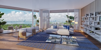 Monaco Yacht Club living room small