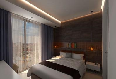 Apt 201-Bedroom