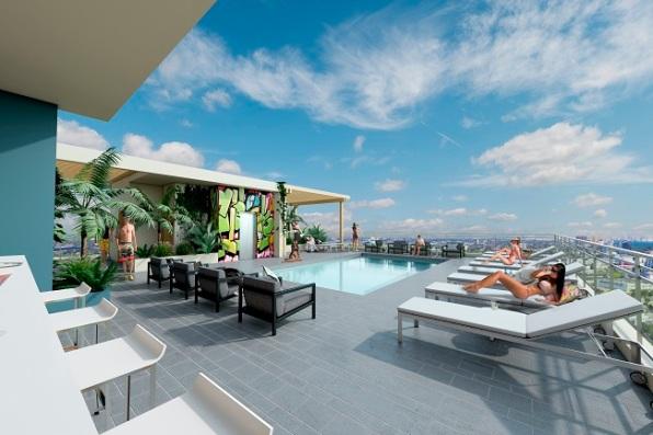 Wynwood Atrium Terrace Pool