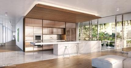 Monad Terrace kitchen render