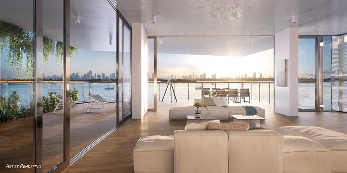 Monad Terrace Living Room
