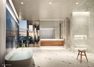 Monad Terrace Master Bath