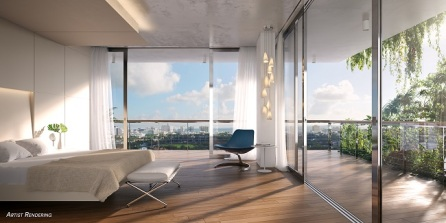 Monad Terrace Master Bedroom