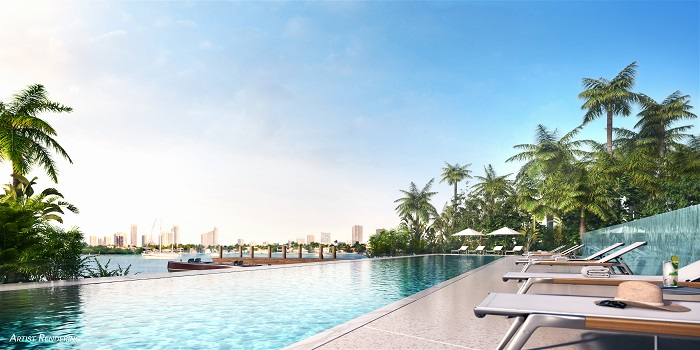 Monad Terrace pool