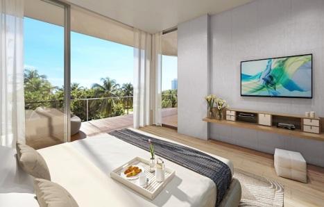 Ocean Park bedroom