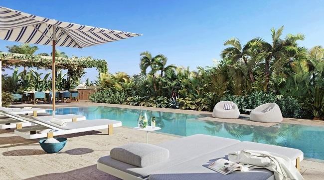 Ocean Park pool deck