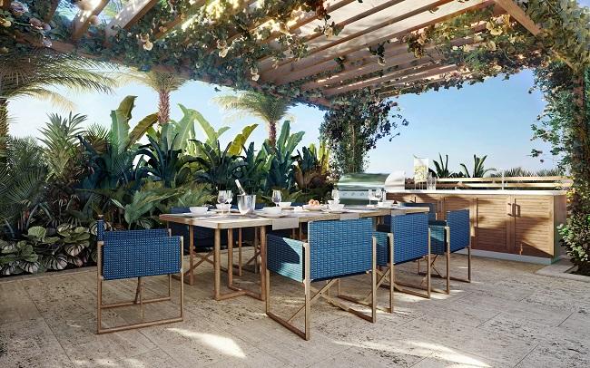 Ocean Park summer kitchen